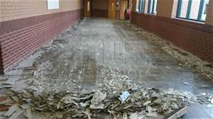 Vct tile removal ceramic tile removal titus restoration for How to remove cutback adhesive from concrete floor