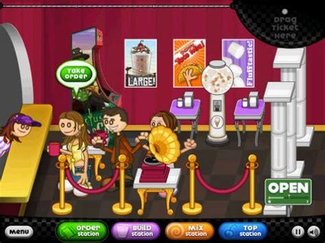 jeux de cuisine papa louie pancakeria papa 39 s freezeria hd pour android à télécharger gratuitement jeu la glace de papa hd sous android