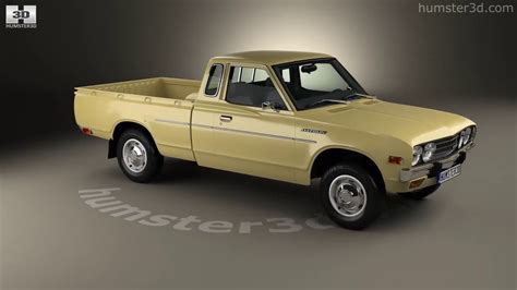 Datsun 620 King Cab by Datsun 620 King Cab 1977 3d Model By Hum3d