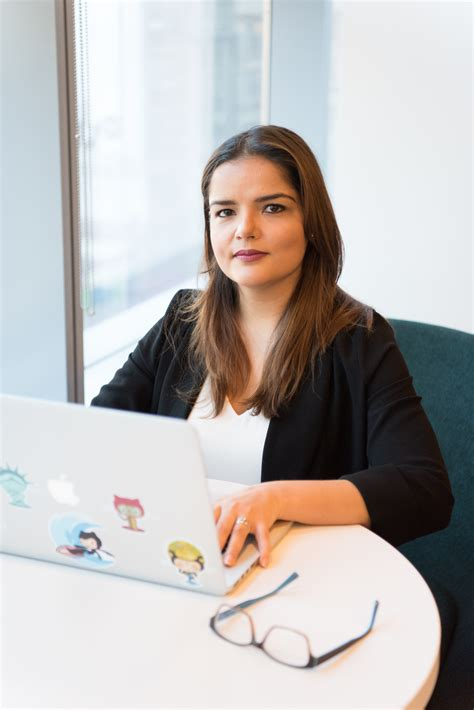 stock photo  ad computer female