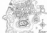 Coloring Map Neighborhood Popular Start sketch template