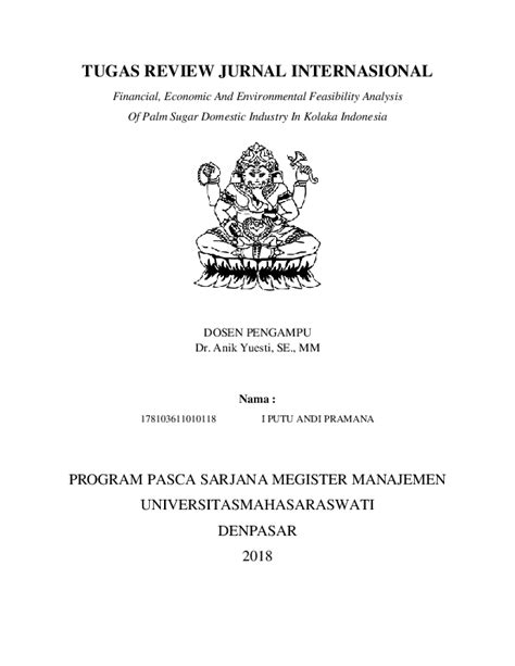 (PDF) TUGAS REVIEW JURNAL INTERNASIONAL | Andi Pramana and
