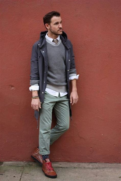 a cool modern business casual look love the color of the