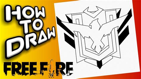 Create a professional youtube logo in minutes with our free youtube logo maker. HOW TO DRAW HEROIC FREE FIRE LOGO | como dibujar el logo ...