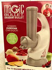 I am having fun daily plying with it and the desserts are not just yummy but healthy to boot, bargain. Magic Bullet Dessert Bullet With Recipe Book (NOB) | eBay
