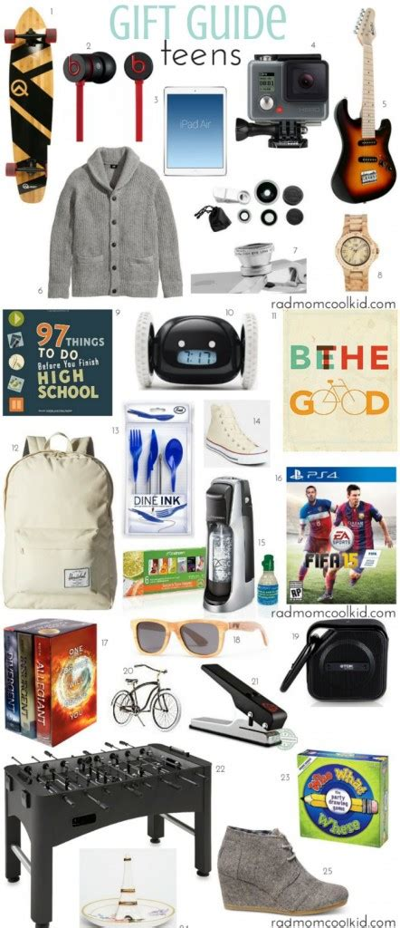 christmas gifts for high school boys gift guide