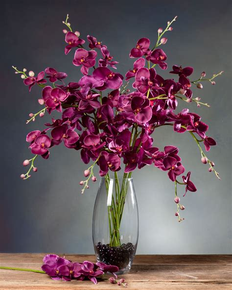 phalaenopsis orchid silk flower stems for casual