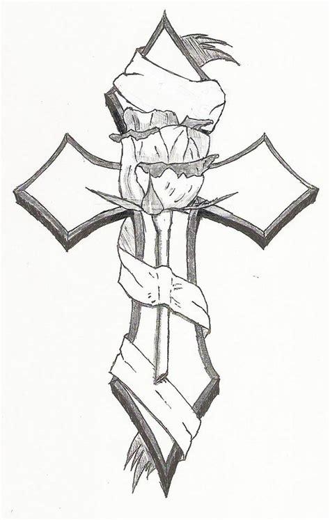hannikate cross tattoos tribal  ideas