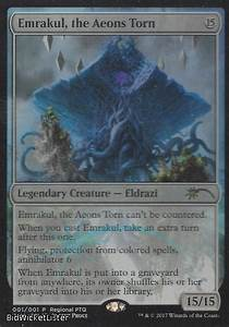 Emrakul the Aeons Torn (RPTQ) Near Mint Foil English ...