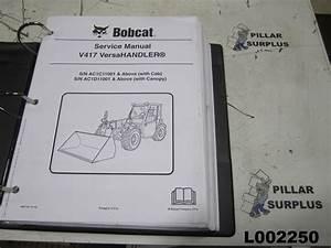 Bobcat V417 Versa Handler  Ttc  Service Manual 6987144