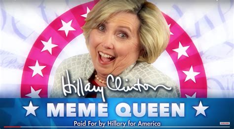 Meme Queen - hillary clinton is meme queen 2016