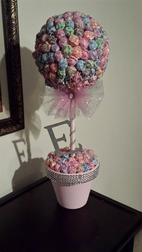 Elegant Dum Dum Topiary Tree With Initial By