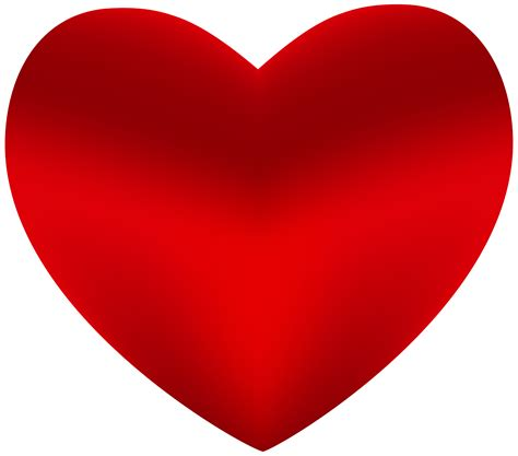 beautiful red heart png clipart  web clipart