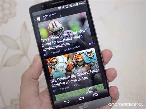 Android Best Apps by The Best Sports News Apps For Android Android Central