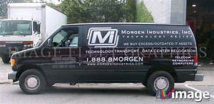 morgen industries inc nyc ny ford e150 van lettering With truck lettering bronx ny
