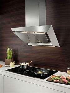 Hotte De Cuisine Design : hotte design inox et verre inspirent la hotte de cuisine ~ Premium-room.com Idées de Décoration