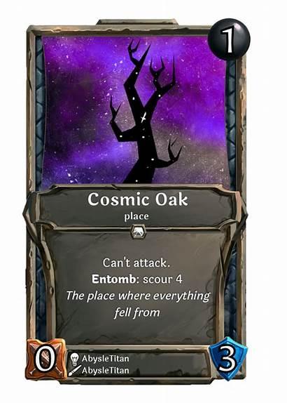 Card Cosmic Oak Week