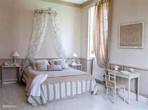 Ciel De Lit Adulte : chambre romantique elle d coration ~ Dailycaller-alerts.com Idées de Décoration