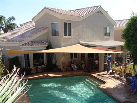 shade sails sun shade sail installation in arizona