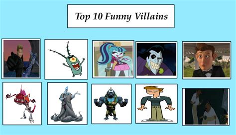 My Top 10 Funny Villains By Jacobyel On Deviantart