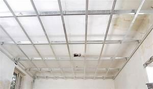 Faire Un Faux Plafond : faire un faux plafond suspendu r nover en image ~ Premium-room.com Idées de Décoration