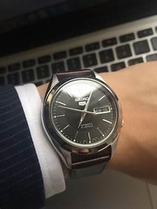 seiko snkl23 watches pinterest With robe de cocktail combiné avec bracelet nato panerai