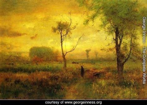Ee  George Inness The Complete Works Sunrise Ee