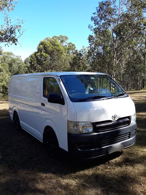 toyota hiace lwb kdhr  car sales qld