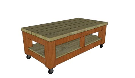 Build A Coffee Table Howtospecialist How To Build