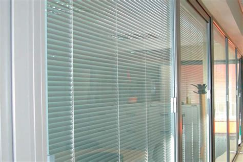 Sliding Door With Blinds In The Glass by Sliding Glass Doors With Blinds Decofurnish