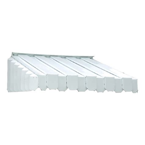 americana building products aluma vent    wide    projection white solid slope window