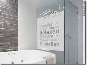 Dusche Folie Glas : ma gefertigte fensterfolie f r badezimmer und wellness ~ Frokenaadalensverden.com Haus und Dekorationen