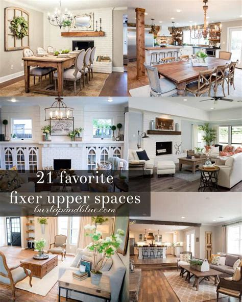 vintage farmhouse kitchen decor fixer kitchens living and dining rooms 21 favorites