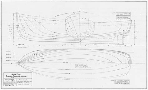 Boat Lines by Troller Hull Lines