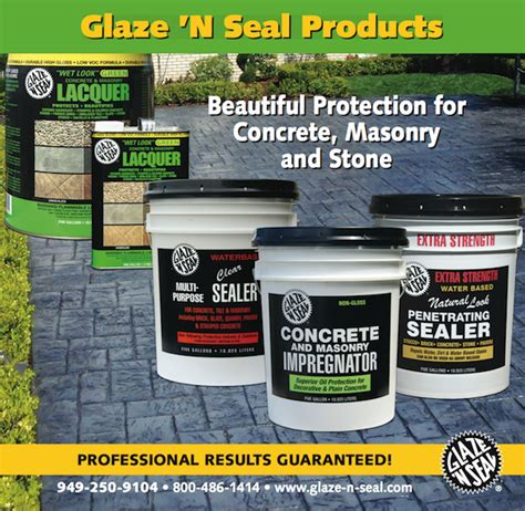 copy glaze n seal products