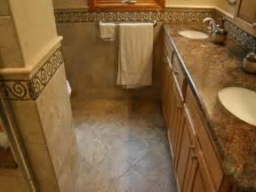 bathroom bathroom tile flooring ideas colored