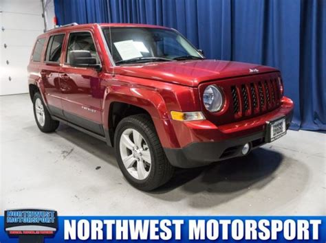 burgundy jeep 2017 2017 jeep patriot latitude 4x4 24640 miles burgundy 2 4l