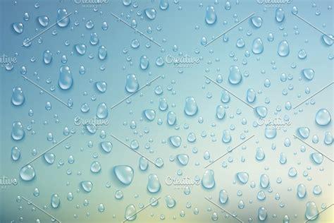 Realistic transparent water drops | Custom-Designed ...