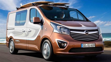 Opel Vivaro by Opel Vivaro Surf Edition Previews Next Holden Sandman