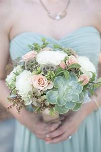 Spring wedding bouquet with succulents | Wedding Ideas ...