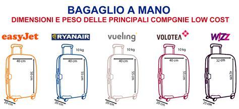 misure trolley cabina aereo come preparare il bagaglio a mano infoperte