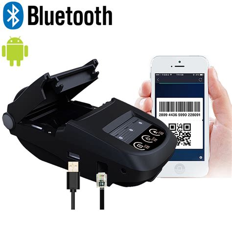 android phone printer 58mm wireless bluetooth thermal receipt printer label
