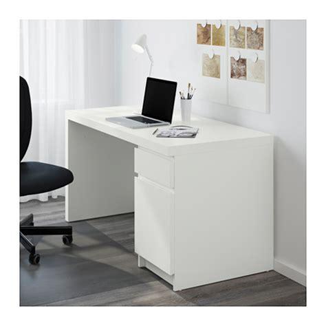 bureau malm ikea malm desk white 140x65 cm ikea