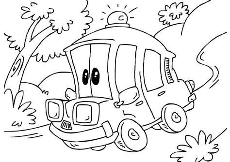 Hulpdiensten Kleurplaat by Kleurplaat Ziekenwagen Afb 27164