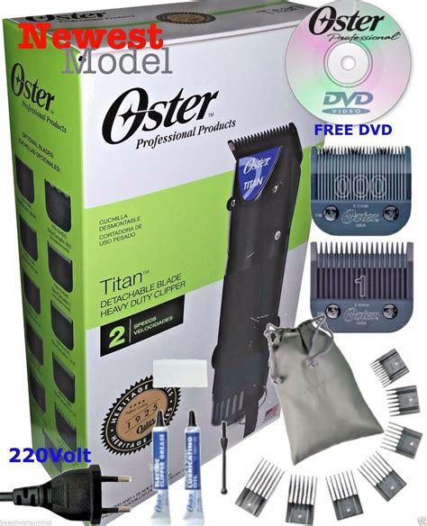 oster titan professional hair clipper universal