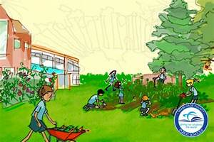 People Cleaning The Environment Drawing
