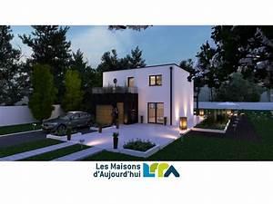 les maisons modernes gallery of pierres rythmes with les With awesome plan de maison neuve 5 maison architecte moderne mc immo