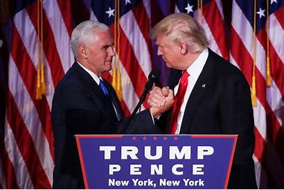 Pence Trump Mike Donald Win