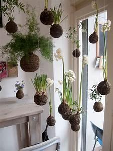 Kokedama Selber Machen : 20 beautiful kokedama string garden ideas home design and interior ~ Orissabook.com Haus und Dekorationen