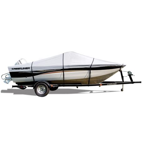 Custom Boat Covers In Canada by Attwood Crestliner Branded Custom Fit Boat Cover 118956